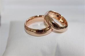 Обручальное кольцо из Дубая 0,6 мм