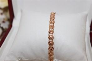 """Браслет из Дубайского золота """"Афина"""" 0,6 см"""