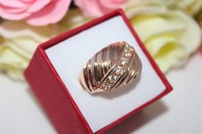 """Кольцо из дубайского золота """"Императорский дар"""""""