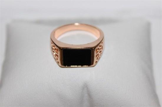 Кольцо-печатка из Дубайского золота - фото 11943