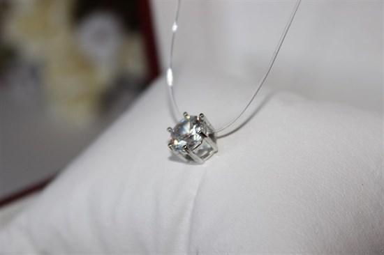 Подвеска (серебро) на леске - фото 27802