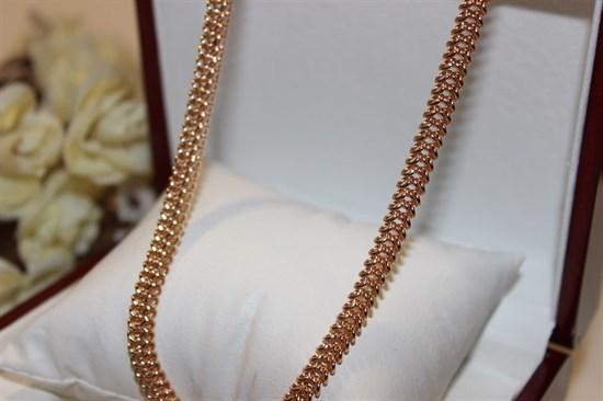 """Цепочка """"Аэлита"""" из Дубайского золота - фото 28578"""
