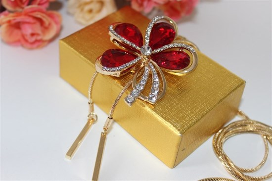 Красивое колье из дубайского золота - фото 29436