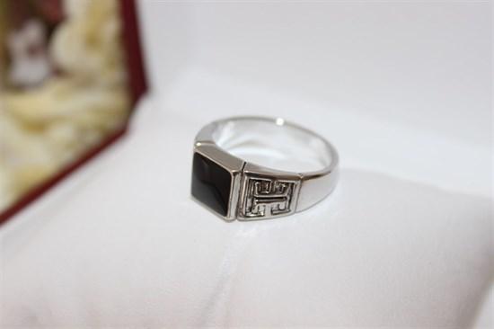 Мужская печатка из Дубайского серебра - фото 29583