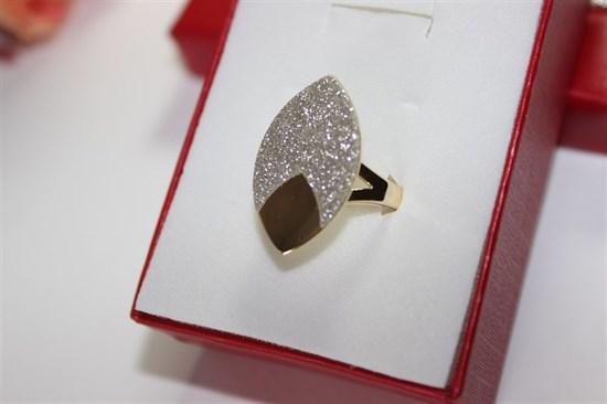 """Кольцо из дубайского золота  """"Магическое сияние"""" - фото 30408"""