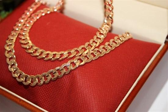 """Набор из Дубайского золота """"BULGARI"""" 0,8 см - фото 75310"""