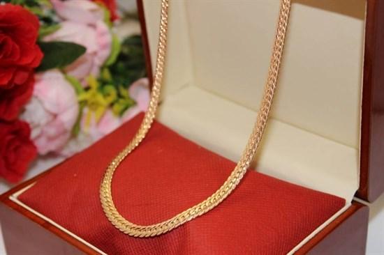 """Цепь из Дубайского золота """"Сабина"""" 0,6см - фото 76397"""