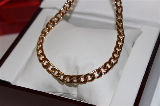 Цепочка из Дубайского золота мужская - фото 7823