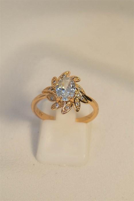 """Кольцо """"Кристальный цветок"""" - фото 85138"""