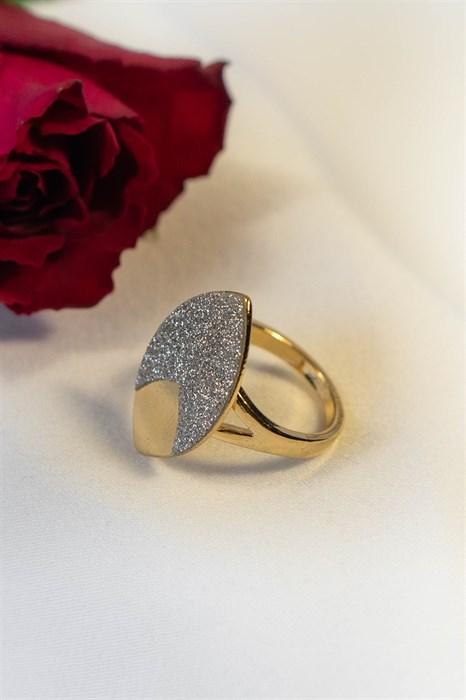 """Кольцо из дубайского золота  """"Магическое сияние"""" - фото 86916"""
