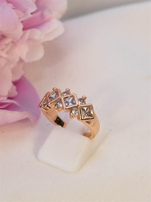 "Кольцо ""Чистый кристалл"" - фото 89406"
