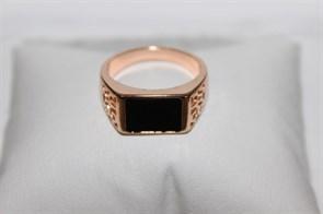 Кольцо-печатка из Дубайского золота