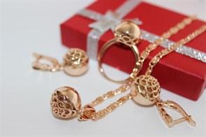 Набор из Дубайского золота