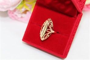 """Кольцо из дубайского золота  """"Отражение любви """""""
