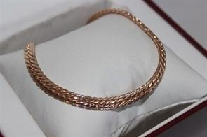 """Цепь из Дубайского золота """"Сабина"""" 0,4 см"""