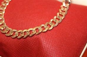 """Цепочка из Дубайского золота """"BULGARI"""" 0,8 см"""