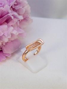 """Кольцо из дубайского золота """"Магия притяжения"""""""