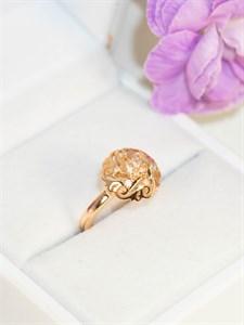 """Кольцо из дубайского золота  """"Зарина"""""""