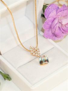 """Комплект  из дубайского золота """"Блеск кристальной звезды"""""""