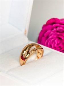 """Кольцо из дубайского золота """"Очарование золота"""""""