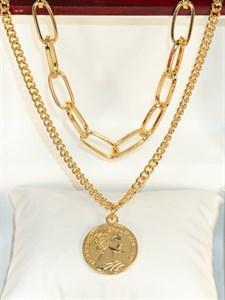 """Колье из Дубайского золота """"Сеньорита"""" (и3)"""